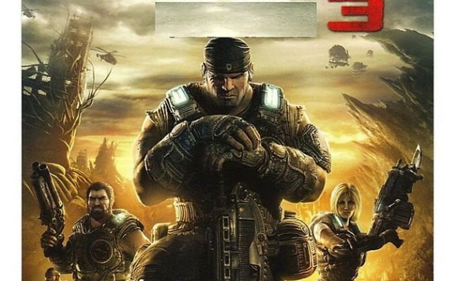 Gears Of War 3 Full Game Download Card Microsoft Xbox