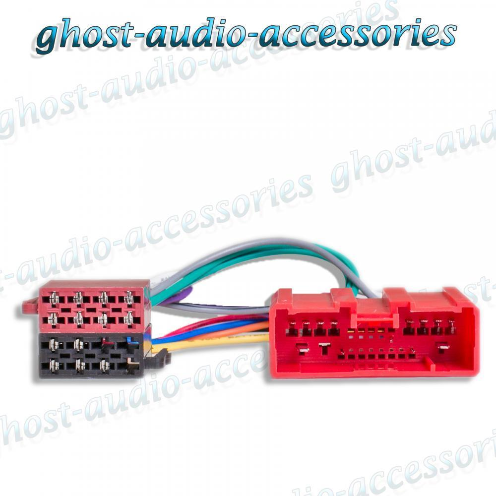 medium resolution of mazda tribute 01 onwards iso radio stereo harness adapter wiring connector