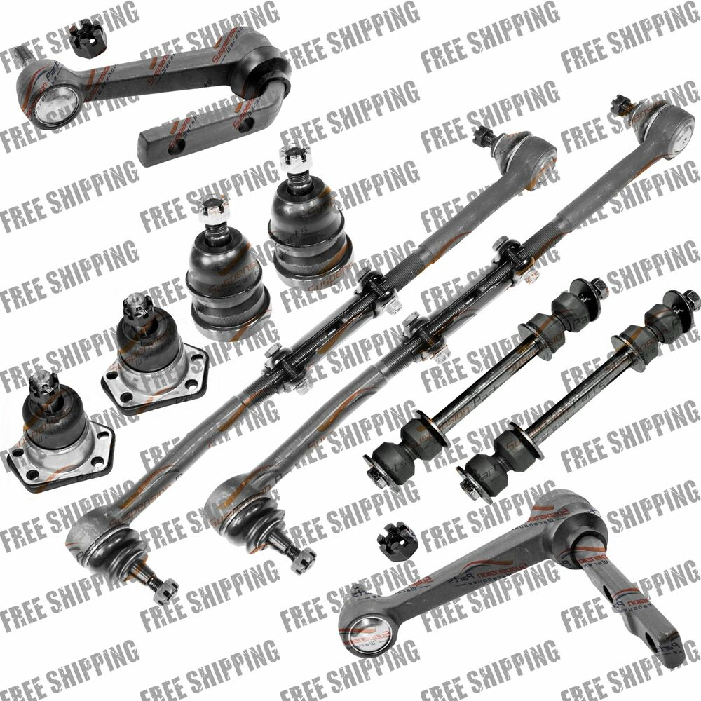Front Idler Arm Tie Rod End Ball Joint Sway Bar Link For