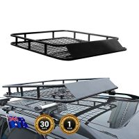 Universal Coated Steel Roof Basket Luggage Rack Cargo Fit ...