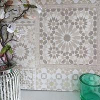 Marrakesh Reclaimed Mosaic Patterned Tile Effect Wallpaper