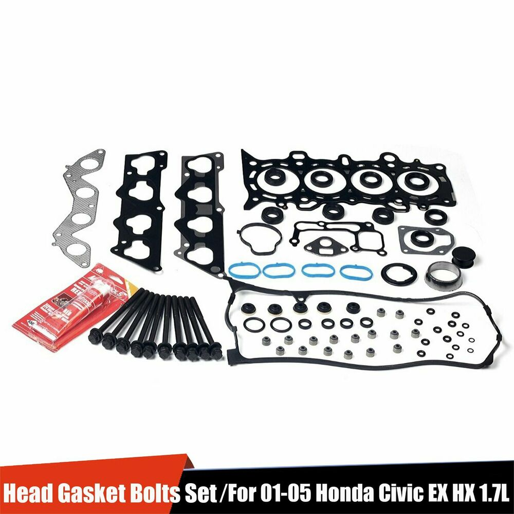 Head Gasket Set Head Bolts For Honda Civic EX HX 1.7L VTEC