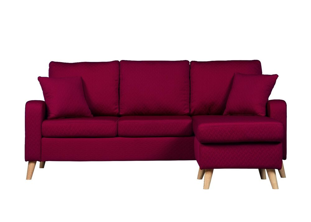 hayden sectional sofa with reversible chaise kiln dried hardwood frame sofas best house interior today modern fabric small space homelegance polyester and