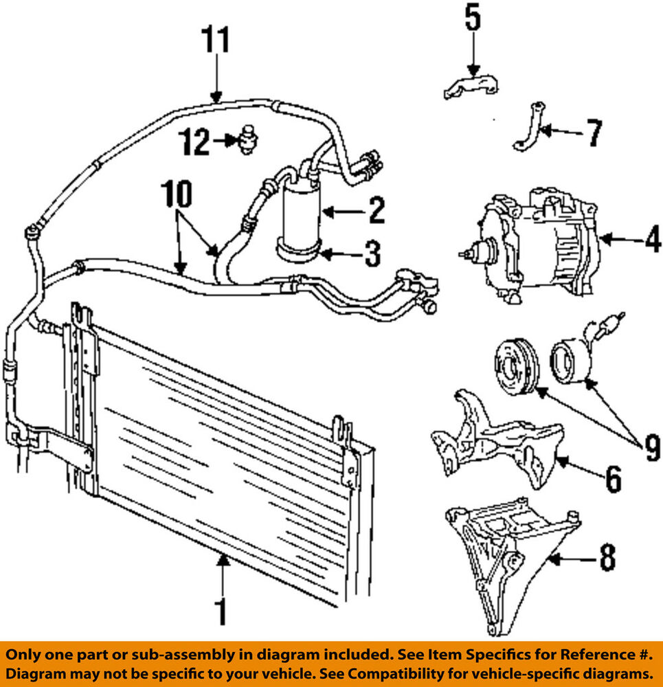 hight resolution of details about dodge chrysler oem 98 01 ram 1500 ac a c air conditioner liquid line 55055835ab