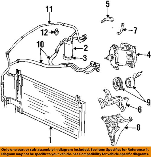 small resolution of details about dodge chrysler oem 98 01 ram 1500 ac a c air conditioner liquid line 55055835ab