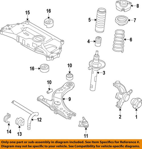 small resolution of 2007 volkswagen jetta front suspension and coil spring parts diagram jetta front suspension and coil spring parts diagram car parts