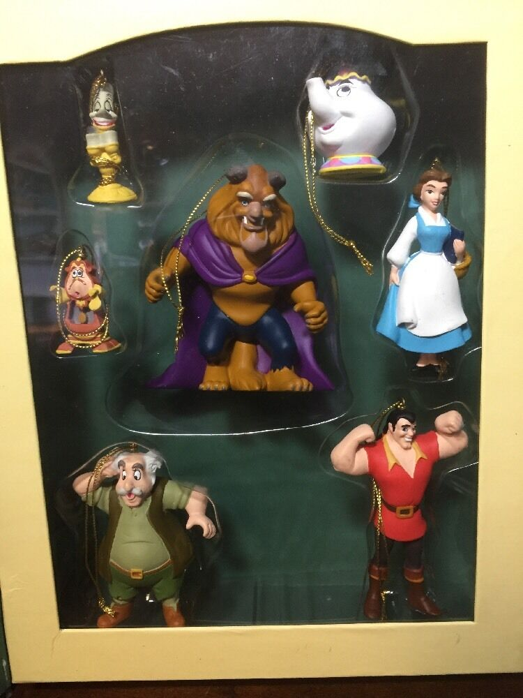 Disney Storybook Ornament Set Beauty And The Beast EBay