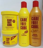 care free curl hair products