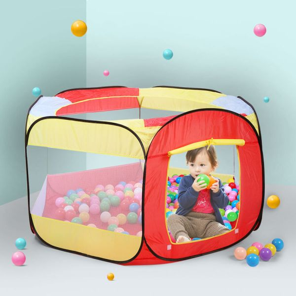 Folding Portable Playpen Baby Play Yard With Travel Bag