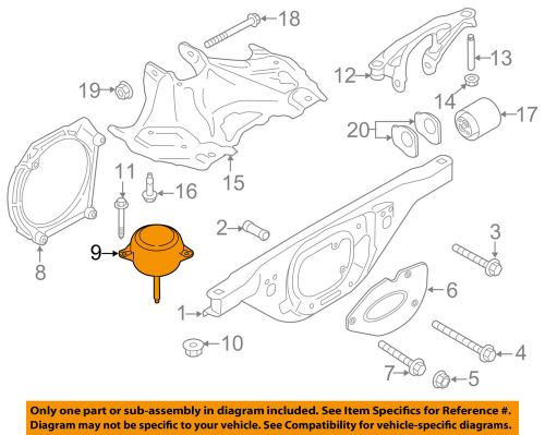 small resolution of details about porsche oem 12 16 911 engine motor mount 99137505908