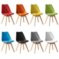Jamie Dining Tulip Chair - Eiffel Inspired - Solid Wood ...