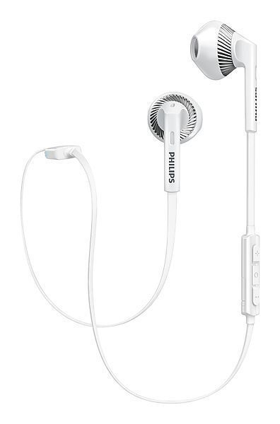 Philips SHB5250 White MyJam FreshTones Wireless Bluetooth