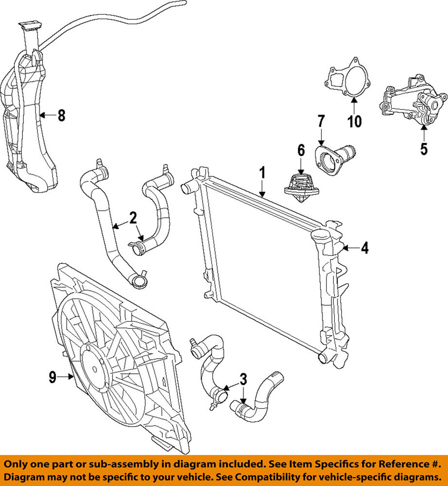 medium resolution of details about vw volkswagen oem 09 10 routan engine coolant thermostat housing 7b0121121