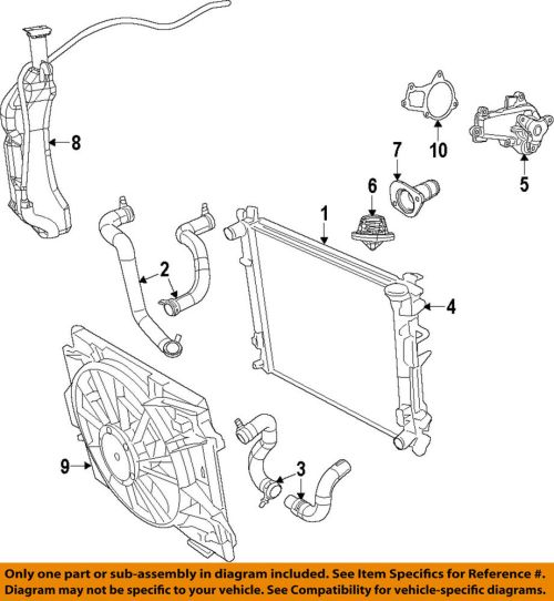 small resolution of details about vw volkswagen oem 09 10 routan engine coolant thermostat housing 7b0121121