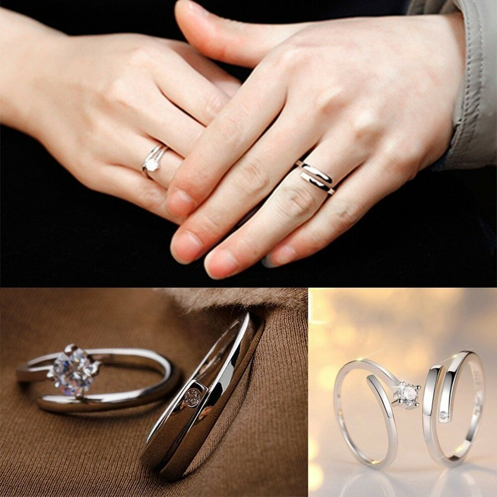 Lover Promise Rings Jewelry Engagement Ring Wedding Ring