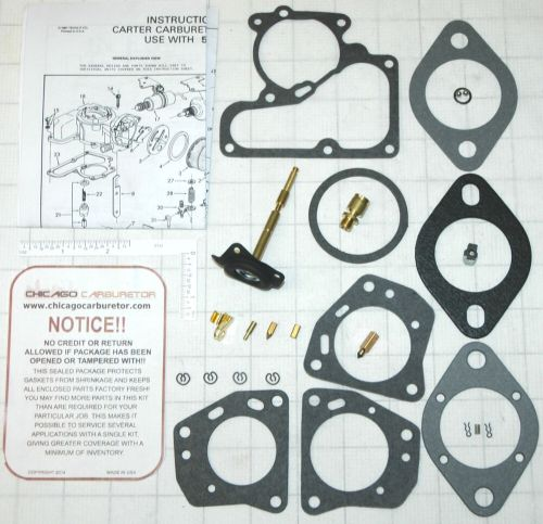 small resolution of details about 1970 76 carb kit carter 1 barrel yf jeep 6 4 cyl engine 153 232 250 258