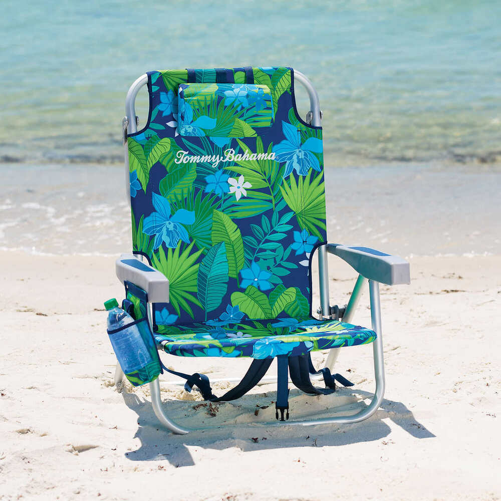 backpack cooler beach chair covers adelaide hire tommy bahama chair- floral | ebay