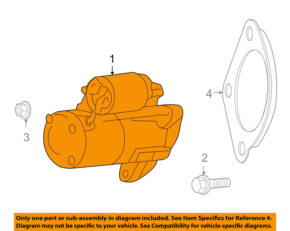medium resolution of details about vw volkswagen oem 09 10 routan starter motor 7b0911023a