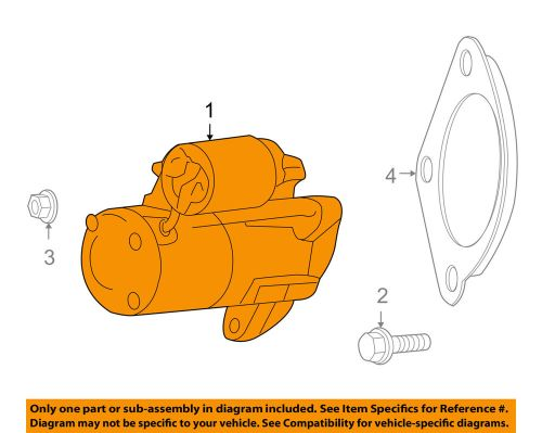 small resolution of details about vw volkswagen oem 09 10 routan starter motor 7b0911023a