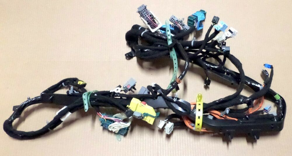 Gm Wire Harness Instrument Panel Chevrolet