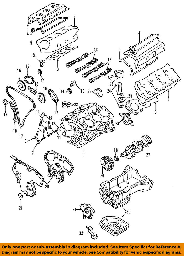nissan frontier timing chain diagram metra wiring harness toyota oem 05 18 engine 13028zk01c ebay details about