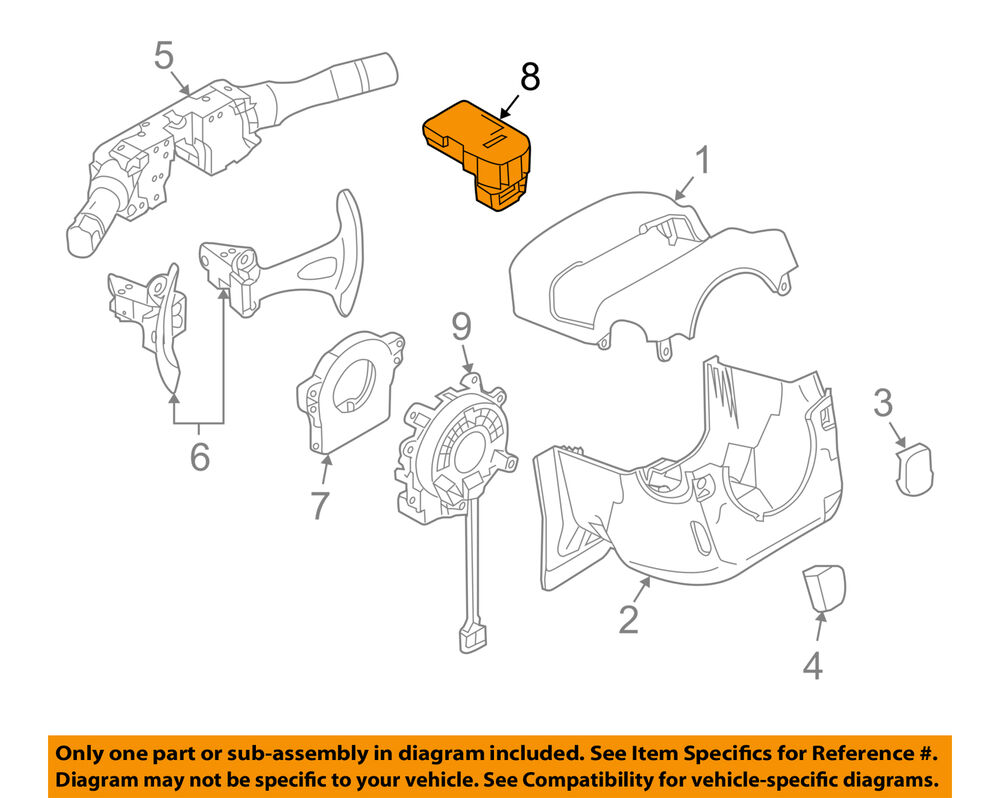 hight resolution of details about nissan oem 09 13 altima ignition lock cylinder 487009n00b