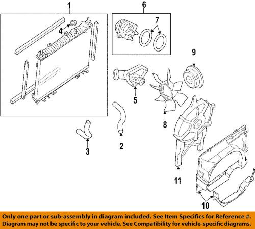small resolution of details about nissan oem 05 18 frontier engine water pump 210107y026