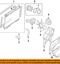 details about nissan oem engine coolant thermostat 21200ea000 [ 1000 x 899 Pixel ]