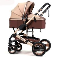 Luxury Baby Stroller Newborn Carriage Infant Travel Car ...