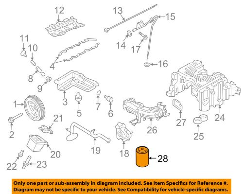 small resolution of details about nissan oem 16 18 titan xd engine oil filter 15208ez40a