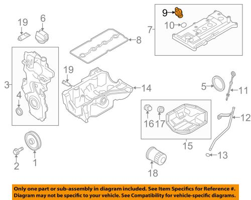 small resolution of details about nissan oem pcv valve 118106n202