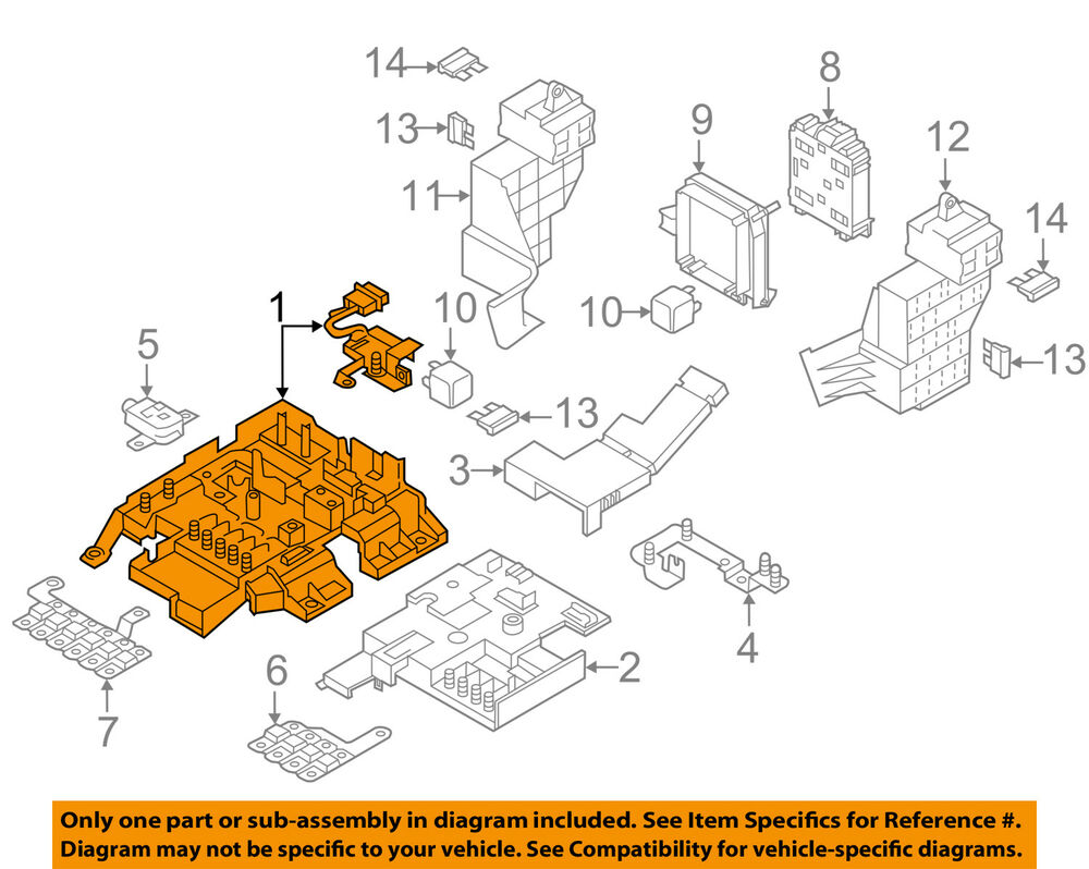 hight resolution of details about vw volkswagen oem 12 16 touareg 3 6l v6 electrical fuse relay box 7p0937548f