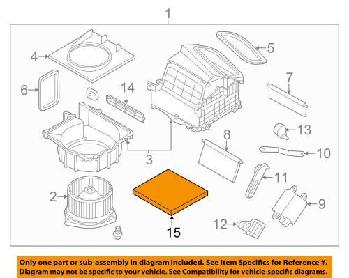 small resolution of details about nissan oem 09 18 370z cabin air filter b72771ea0b
