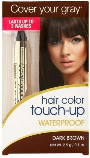 cover gray hair color waterproof