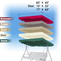 Patio Swing Replacement Canopy. Replacement Canopy For ...
