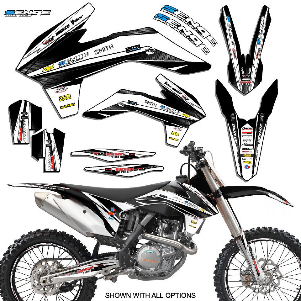 2015 XC-F XCF 150 250 300 350 GRAPHICS FITS KTM DECO