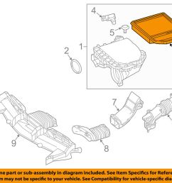 details about mercedes mercedes benz oem e400 engine air cleaner filter element 2760940504 [ 1000 x 798 Pixel ]