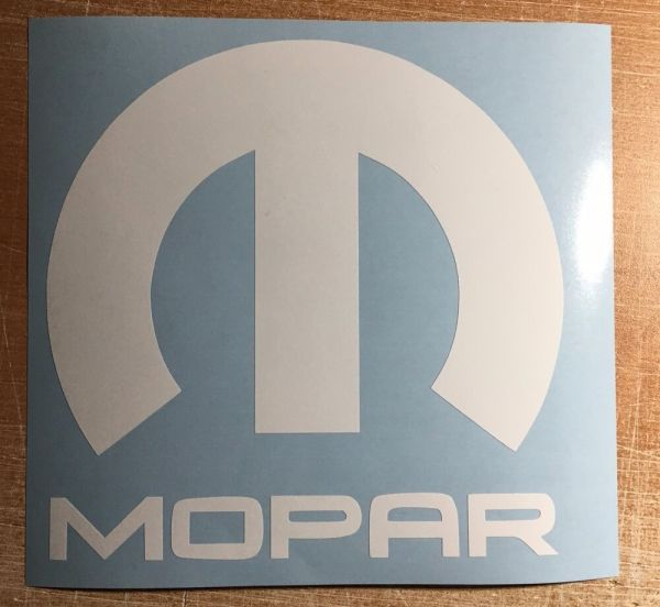 Mopar Vinyl Decal Sticker Graphic Logo Dodge Jeep Ram