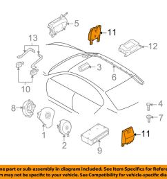 details about bmw oem 04 05 645ci airbag air bag srs side impact sensor 65776962886 [ 1000 x 798 Pixel ]