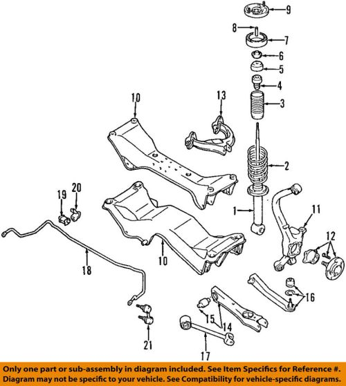 small resolution of details about chrysler oem rear strut bushings mr455186