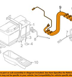 details about bmw oem 09 13 x5 3 0l l6 battery wiring harness 61129292713 [ 1000 x 798 Pixel ]