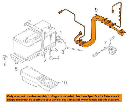 small resolution of details about bmw oem 09 13 x5 3 0l l6 battery wiring harness 61129292713