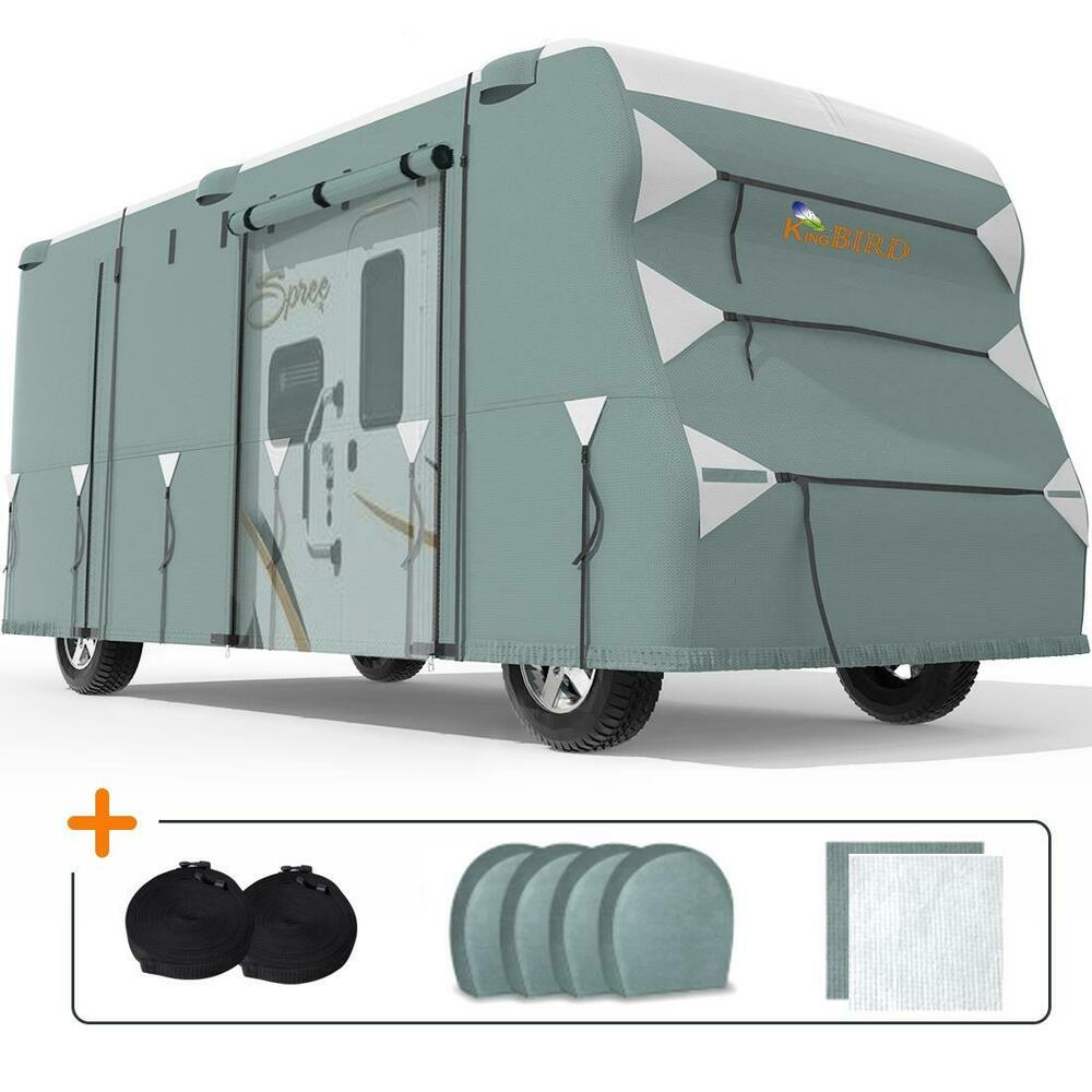 Kingbird 1820Extrathick 4Ply Camper Travel Trailer RV Cover  4 Tire Covers  eBay