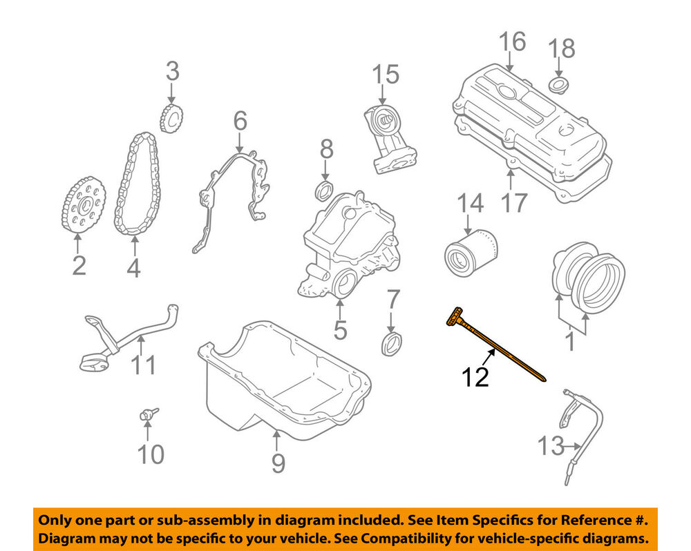 hight resolution of details about ford oem 99 00 mustang 3 8l v6 engine oil fluid dipstick xr3z6750aa
