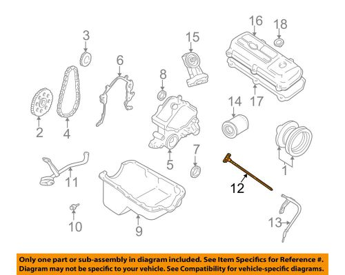 small resolution of details about ford oem 99 00 mustang 3 8l v6 engine oil fluid dipstick xr3z6750aa