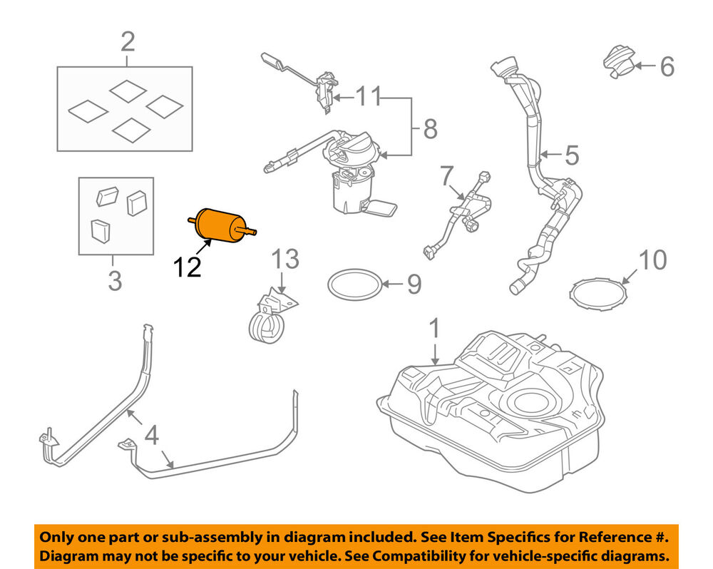 medium resolution of details about ford oem fuel filter 2l2z9155ab
