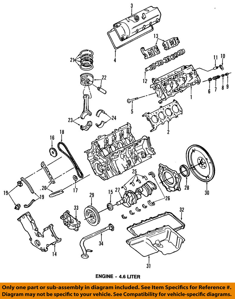 medium resolution of details about ford oem engine oil pan 3w7z6675bc