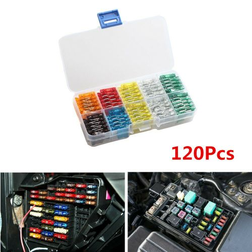 small resolution of details about 120x mix car mini standard blade fuse 7 5 10 15 20 25 30 amp atm apm fuses box