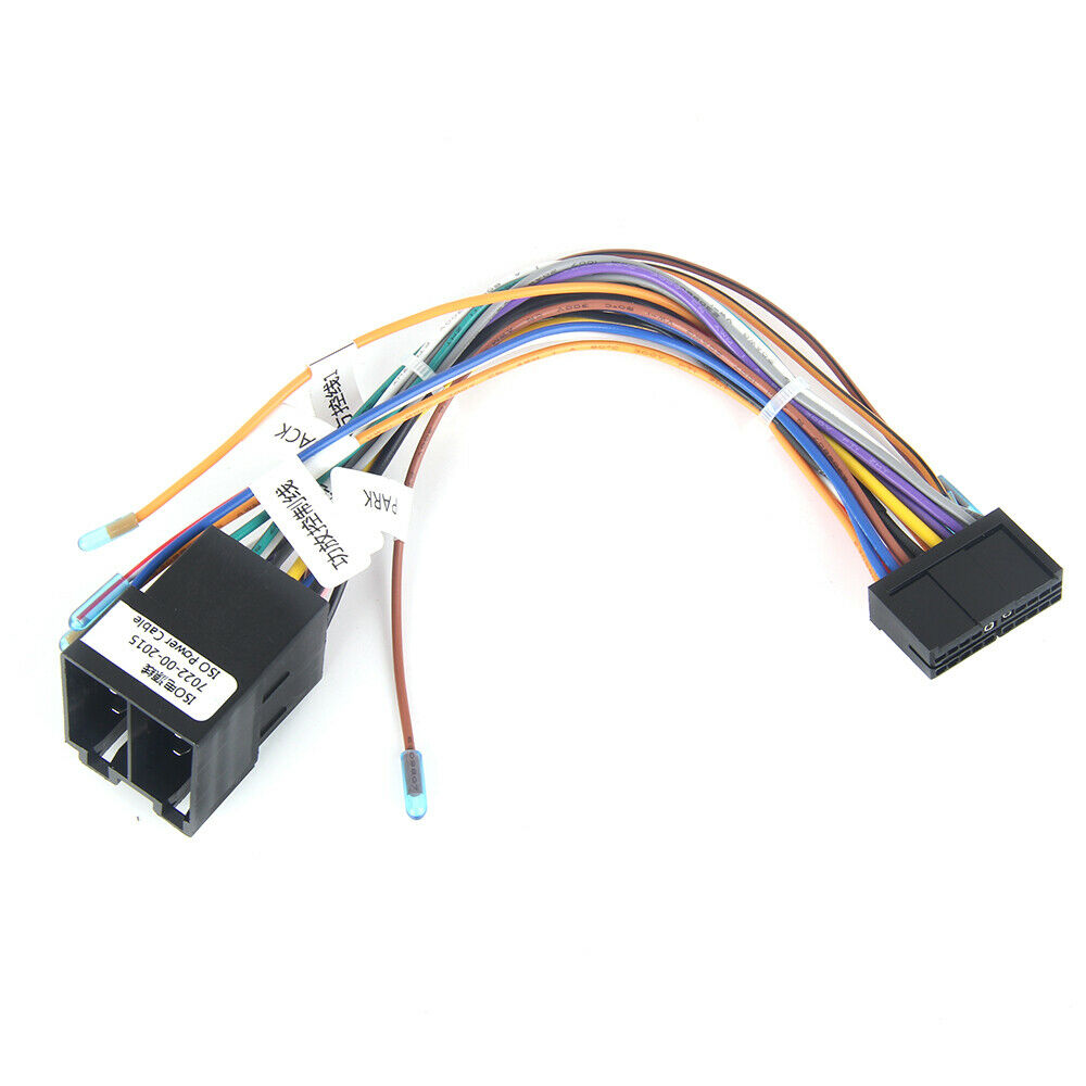 medium resolution of car gps stereo navigation iso wiring harness connector adaptor power