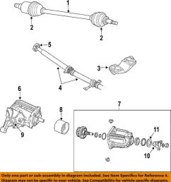 details about chrysler oem 04 06 pacifica rear differential axle seals 5134787ab [ 919 x 1000 Pixel ]